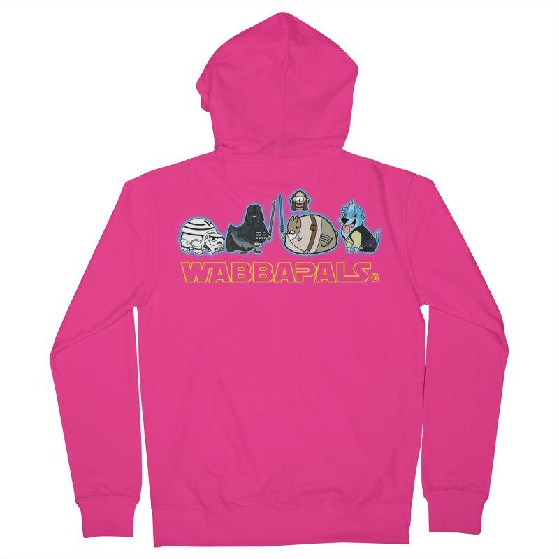 STAR WABBA WARS Men's Zip-Up Hoody by Tripleta Gourmet Clothing