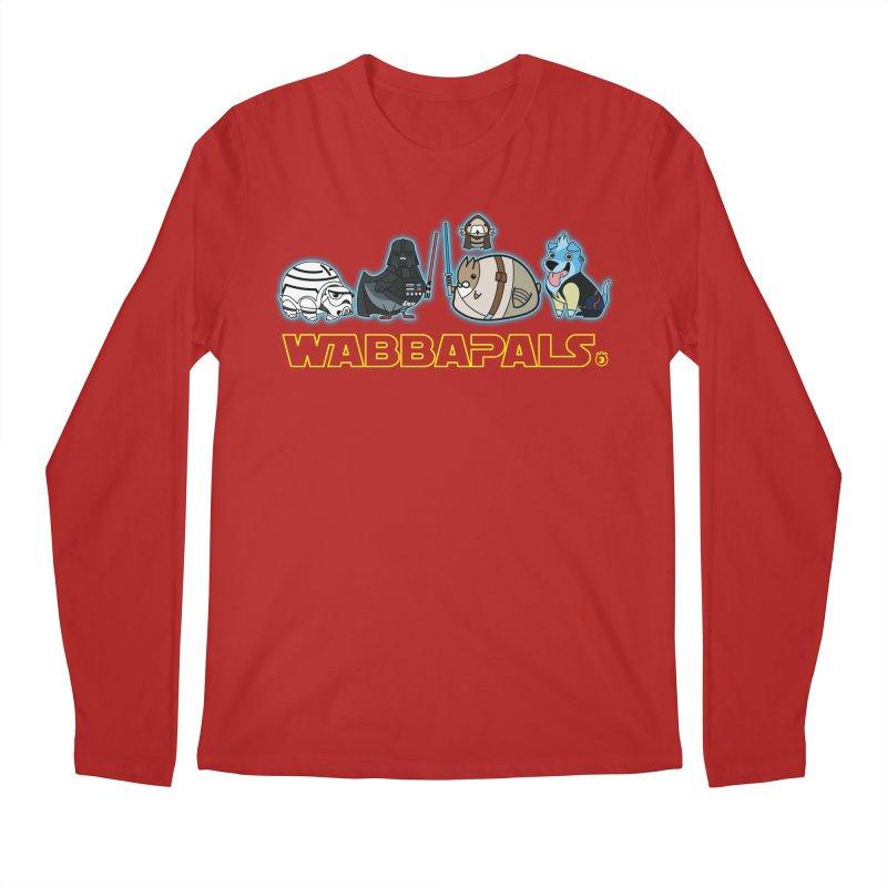 STAR WABBA WARS Men's Longsleeve T-Shirt by Tripleta Gourmet Clothing