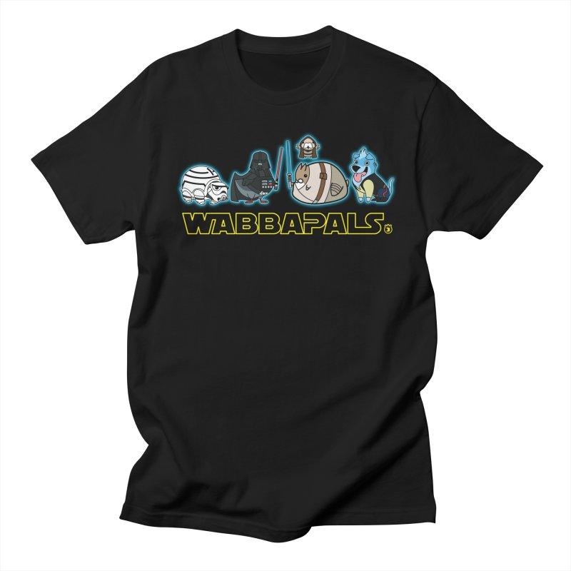 STAR WABBA WARS in Men's T-Shirt Black by Tripleta Gourmet Clothing