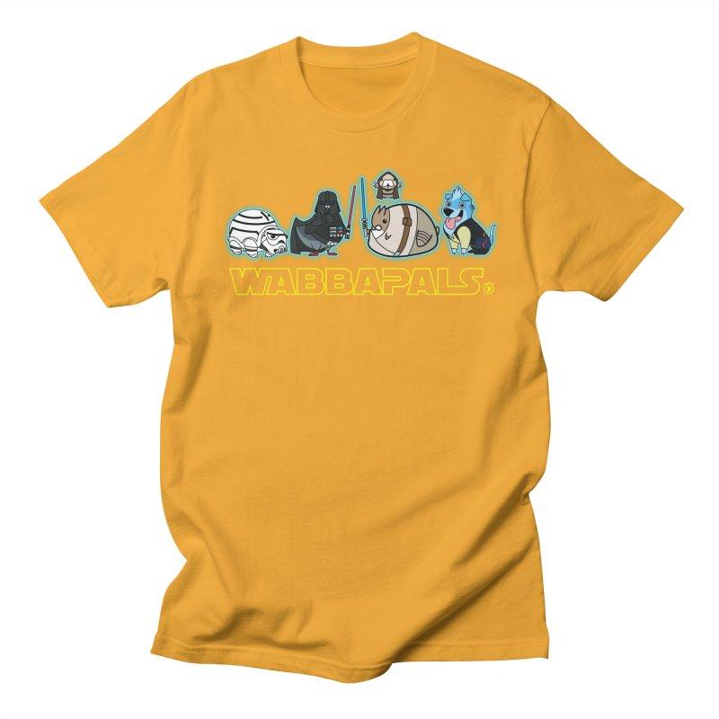 STAR WABBA WARS Women's Unisex T-Shirt by Tripleta Gourmet Clothing