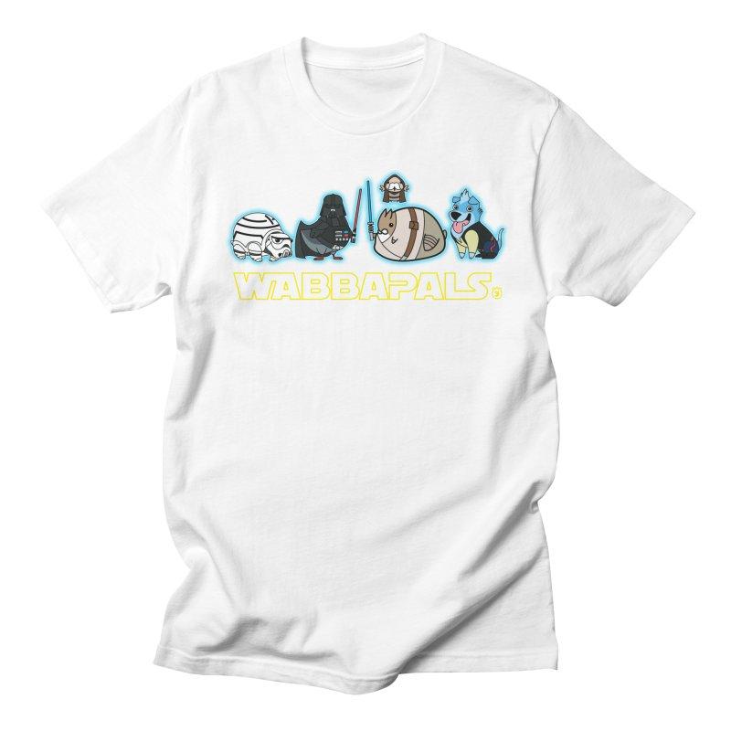 STAR WABBA WARS Men's T-shirt by Tripleta Gourmet Clothing