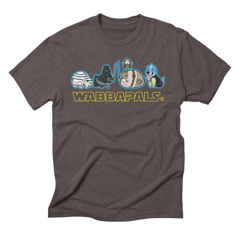 STAR WABBA WARS Men's Triblend T-shirt by Tripleta Gourmet Clothing