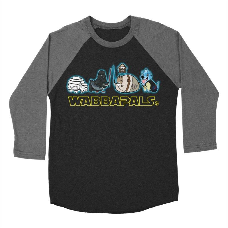 STAR WABBA WARS Women's Baseball Triblend T-Shirt by Tripleta Gourmet Clothing