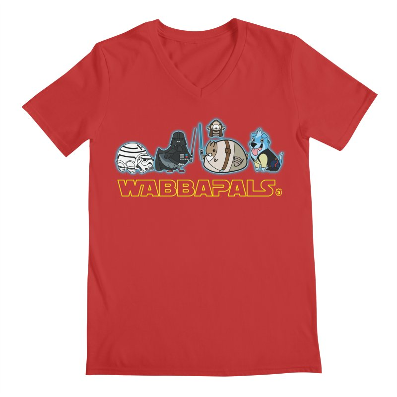 STAR WABBA WARS Men's V-Neck by Tripleta Gourmet Clothing