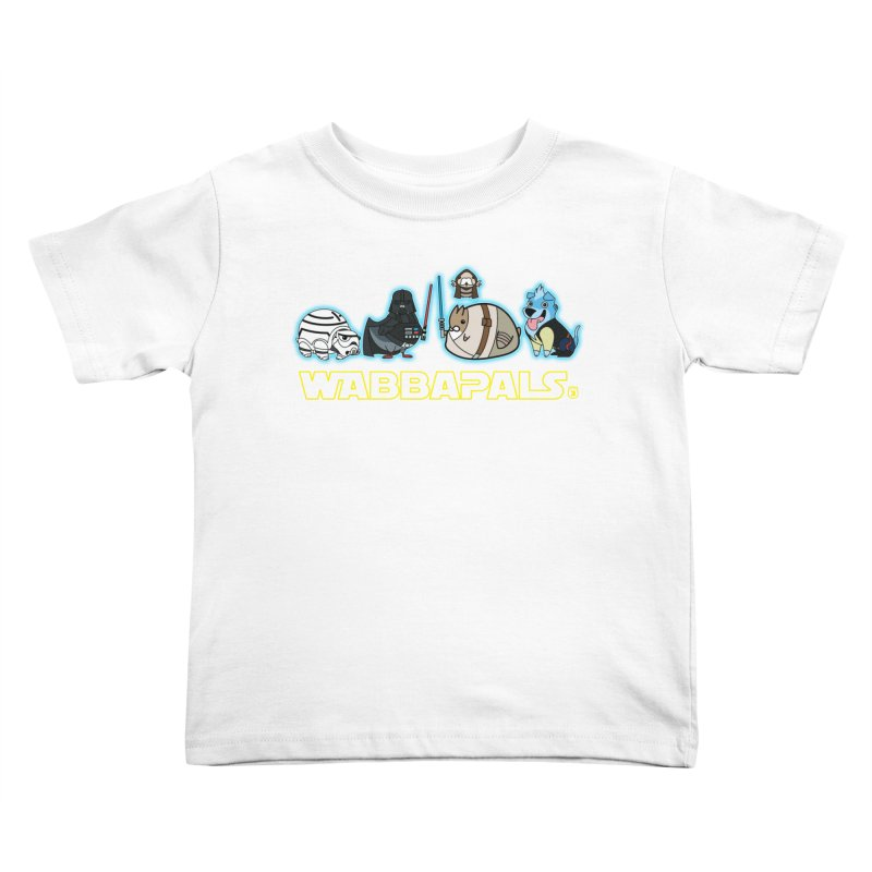 STAR WABBA WARS Kids Toddler T-Shirt by Tripleta Gourmet Clothing