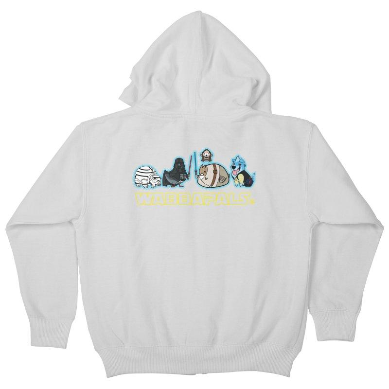 STAR WABBA WARS Kids Zip-Up Hoody by Tripleta Gourmet Clothing
