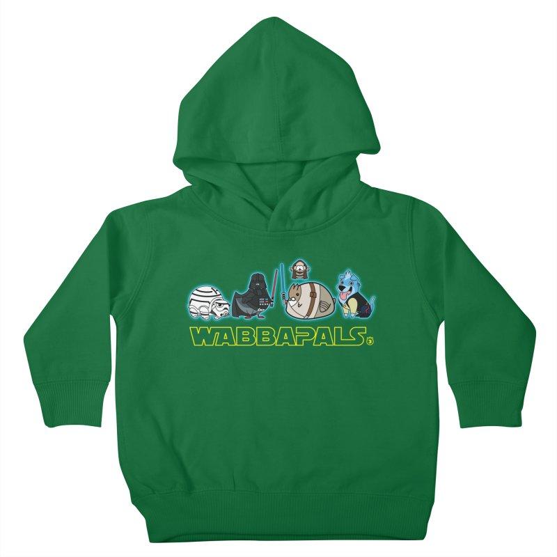 STAR WABBA WARS Kids Toddler Pullover Hoody by Tripleta Gourmet Clothing