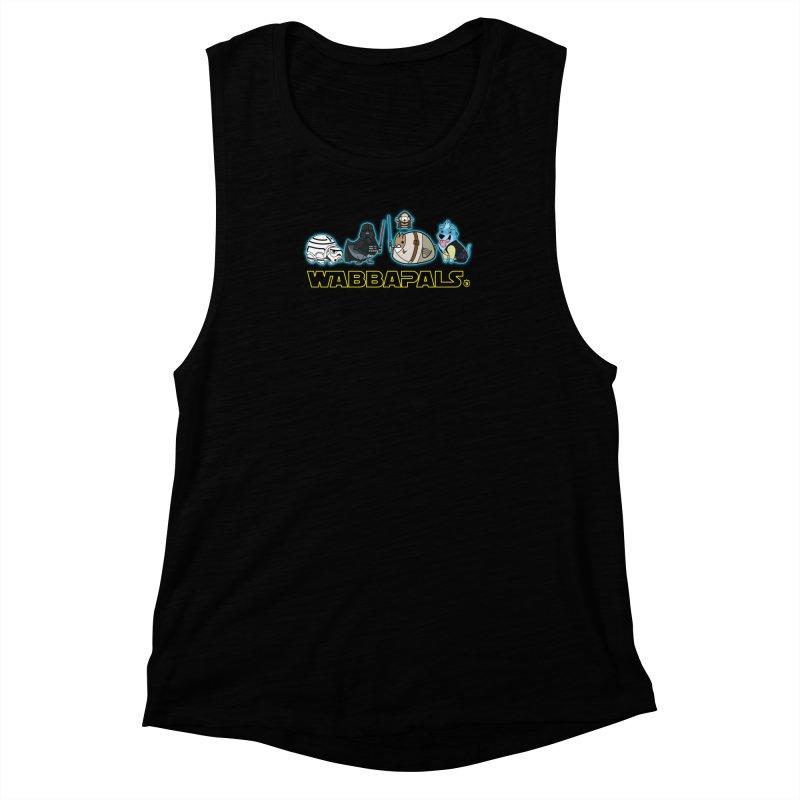 STAR WABBA WARS Women's Muscle Tank by Tripleta Gourmet Clothing