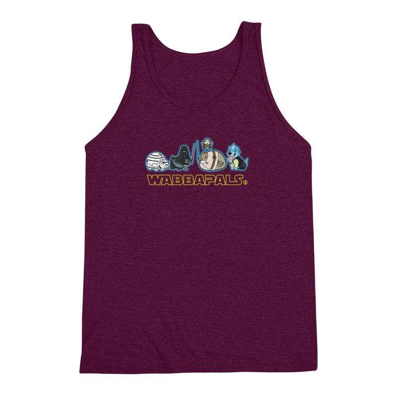 STAR WABBA WARS Men's Triblend Tank by Tripleta Gourmet Clothing