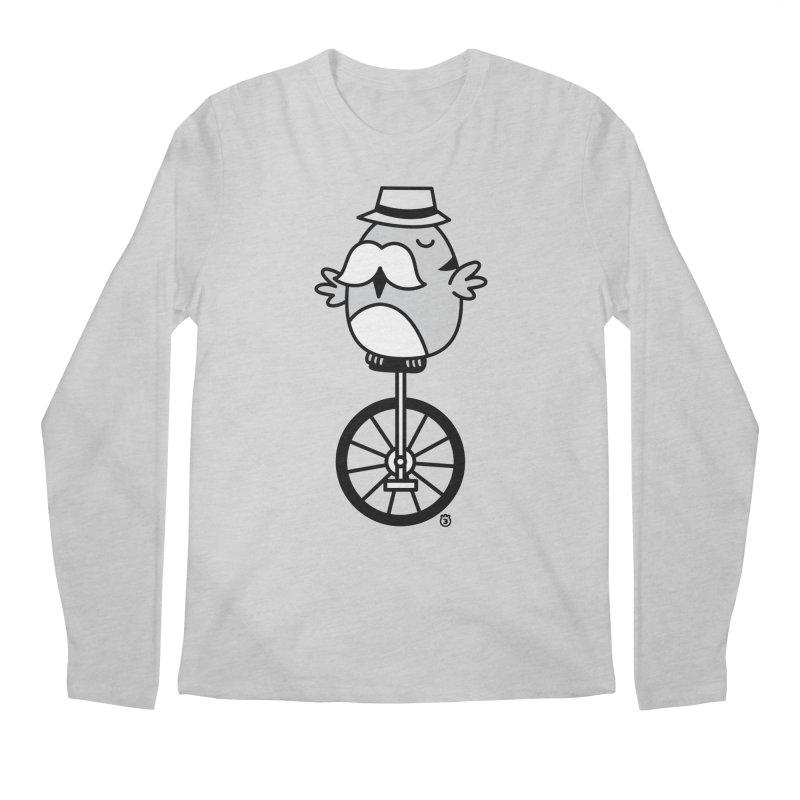 UNICYCLE BUCHO Men's Longsleeve T-Shirt by Tripleta Gourmet Clothing