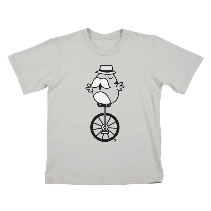UNICYCLE BUCHO Kids T-shirt by Tripleta Gourmet Clothing