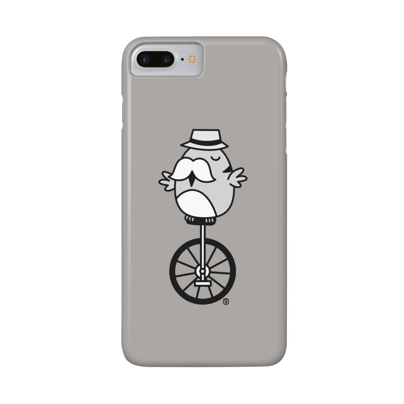 UNICYCLE BUCHO Accessories Phone Case by Tripleta Gourmet Clothing