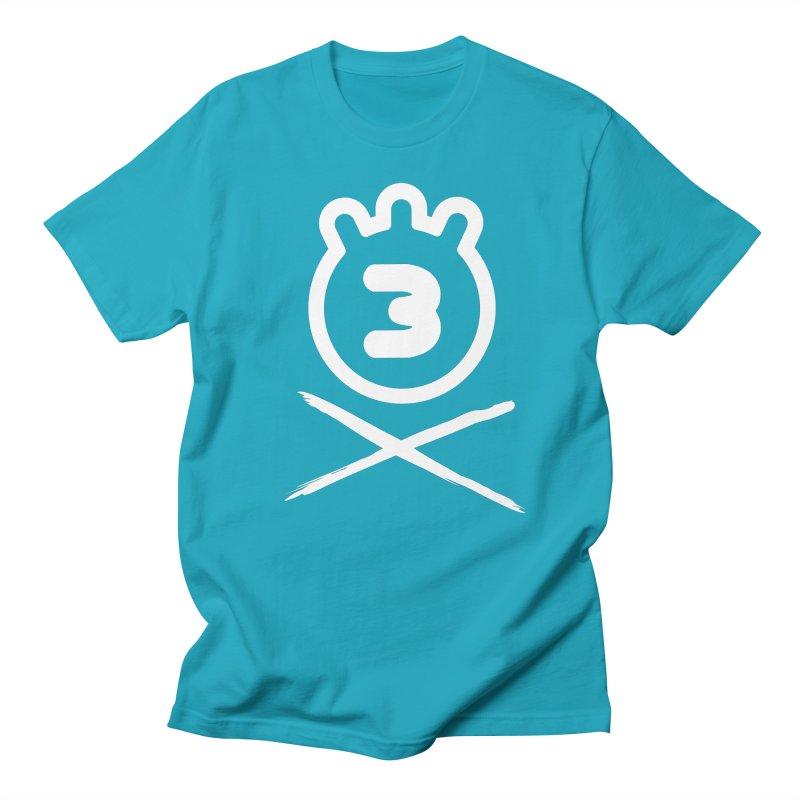 TRIPLETA X Men's T-Shirt by Tripleta Gourmet Clothing