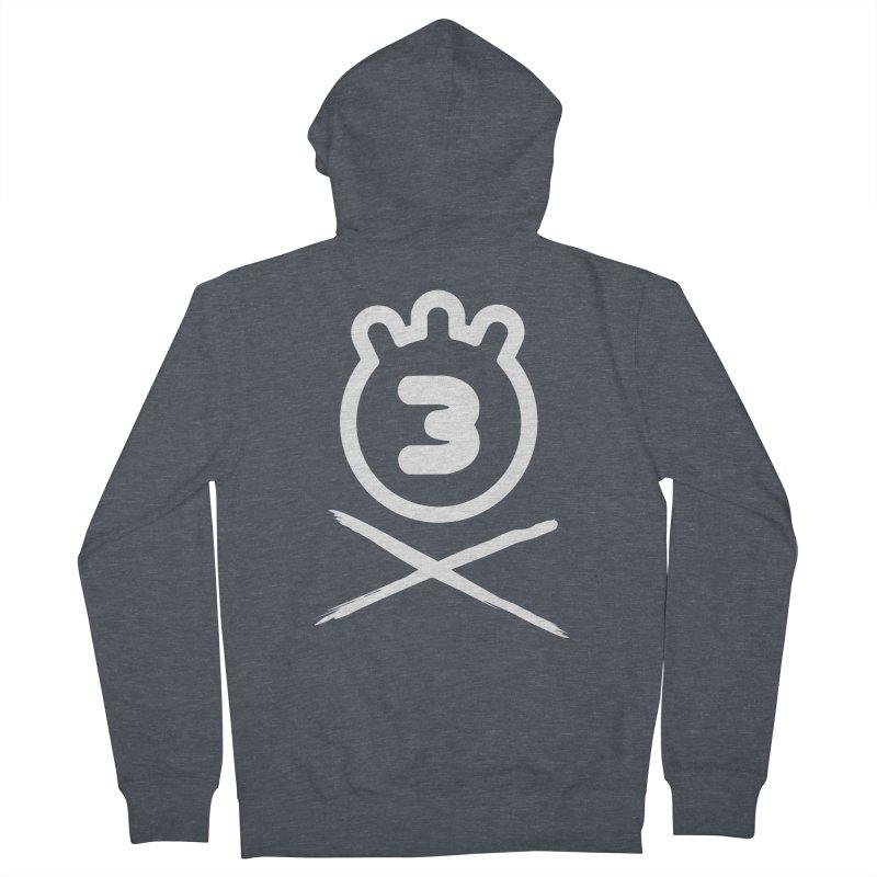 TRIPLETA X Men's Zip-Up Hoody by Tripleta Gourmet Clothing