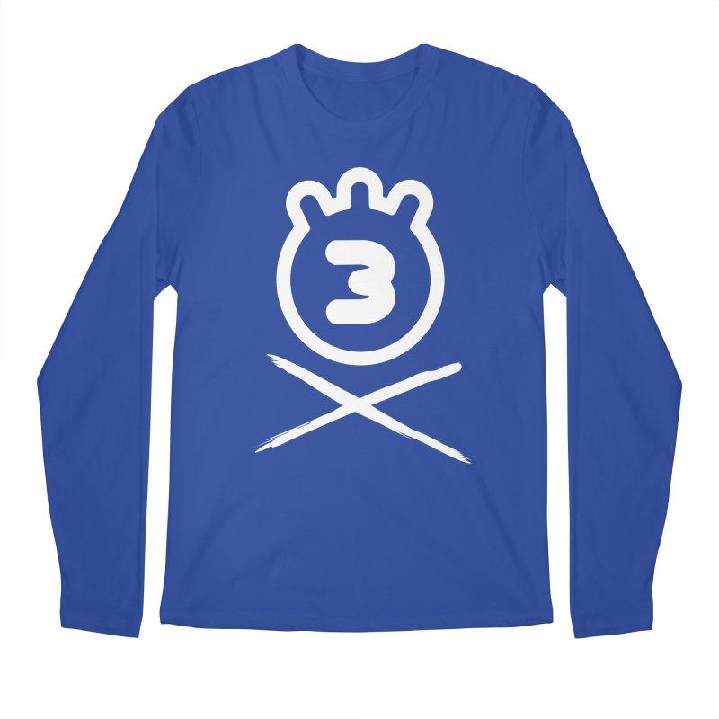 TRIPLETA X Men's Longsleeve T-Shirt by Tripleta Gourmet Clothing