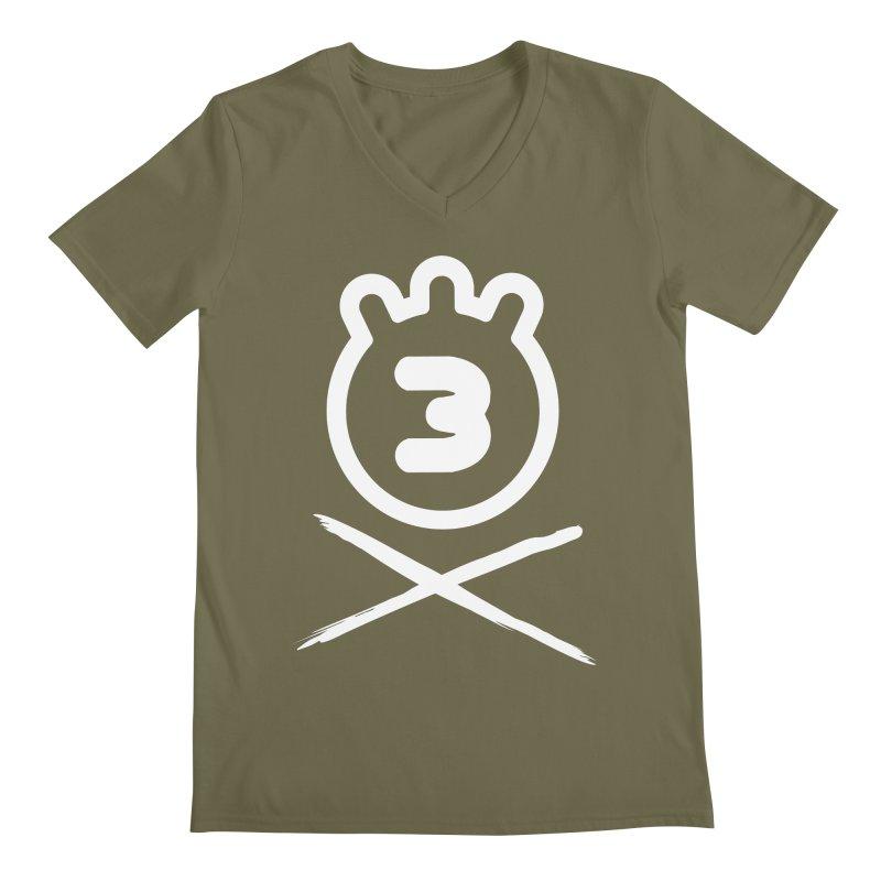 TRIPLETA X Men's V-Neck by Tripleta Gourmet Clothing
