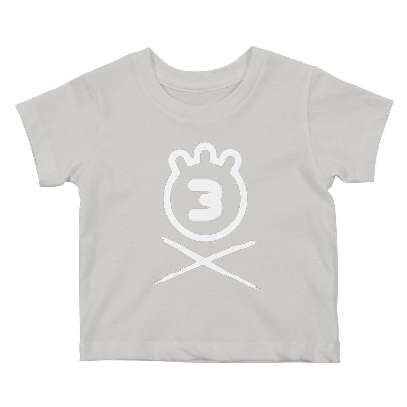 TRIPLETA X Kids Baby T-Shirt by Tripleta Gourmet Clothing