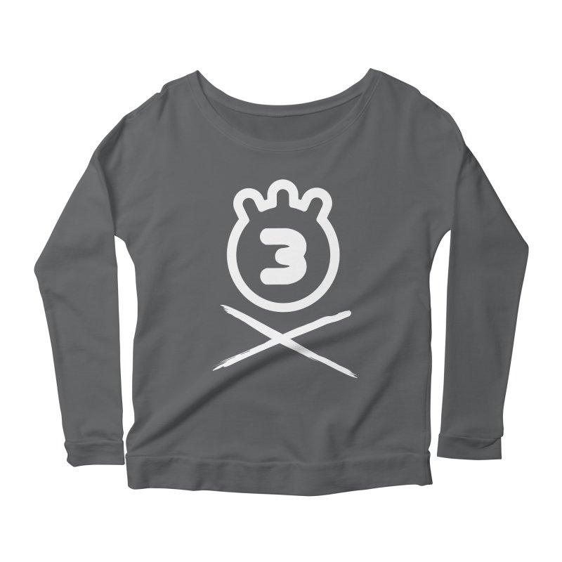 TRIPLETA X Women's Scoop Neck Longsleeve T-Shirt by Tripleta Studio Shop