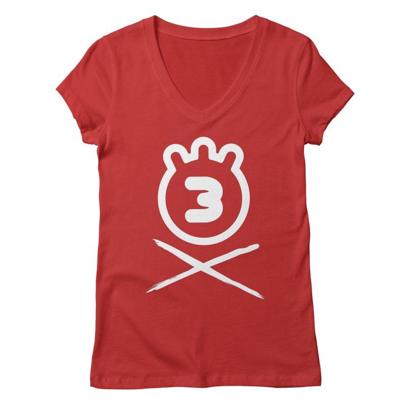 TRIPLETA X Women's V-Neck by Tripleta Gourmet Clothing