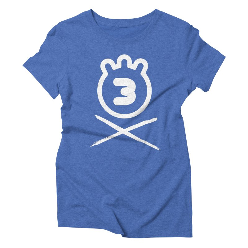 TRIPLETA X Women's Triblend T-Shirt by Tripleta Gourmet Clothing
