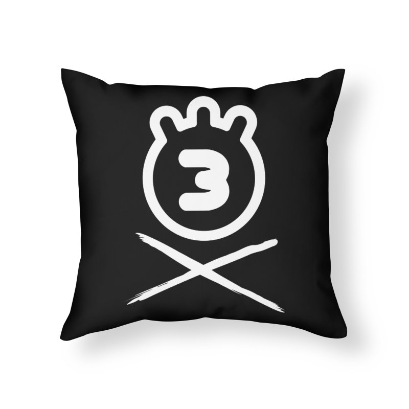 TRIPLETA X Home Throw Pillow by Tripleta Gourmet Clothing