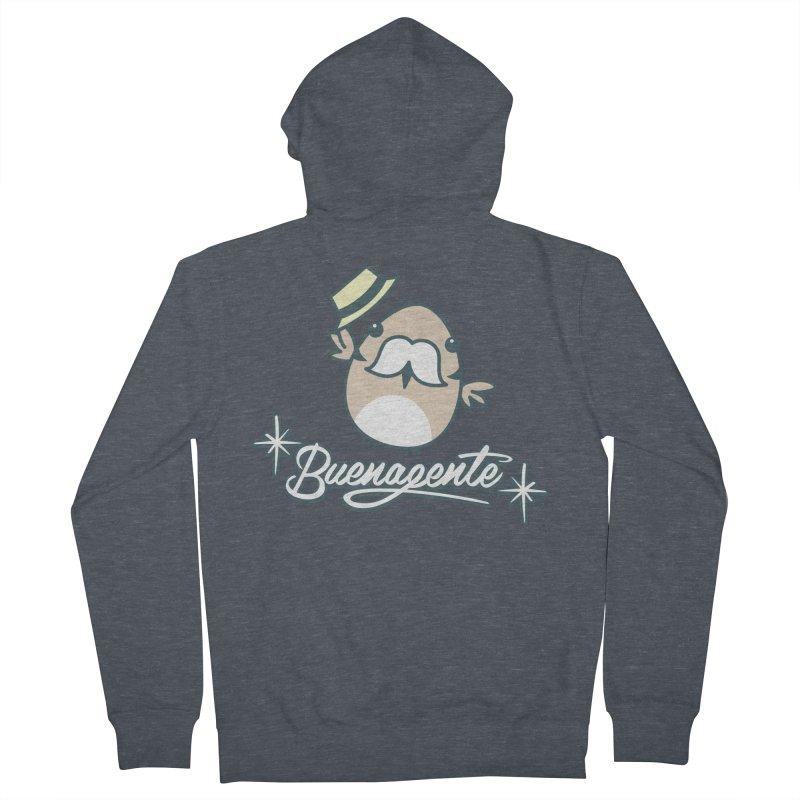 BUENAGENTE Men's Zip-Up Hoody by Tripleta Gourmet Clothing