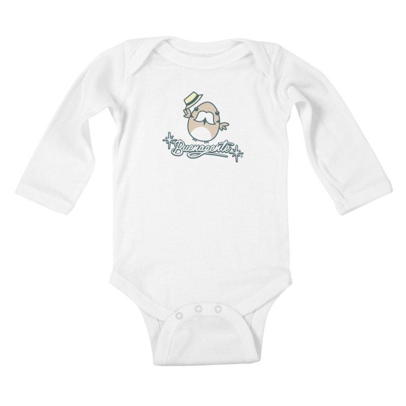 BUENAGENTE Kids Baby Longsleeve Bodysuit by Tripleta Gourmet Clothing