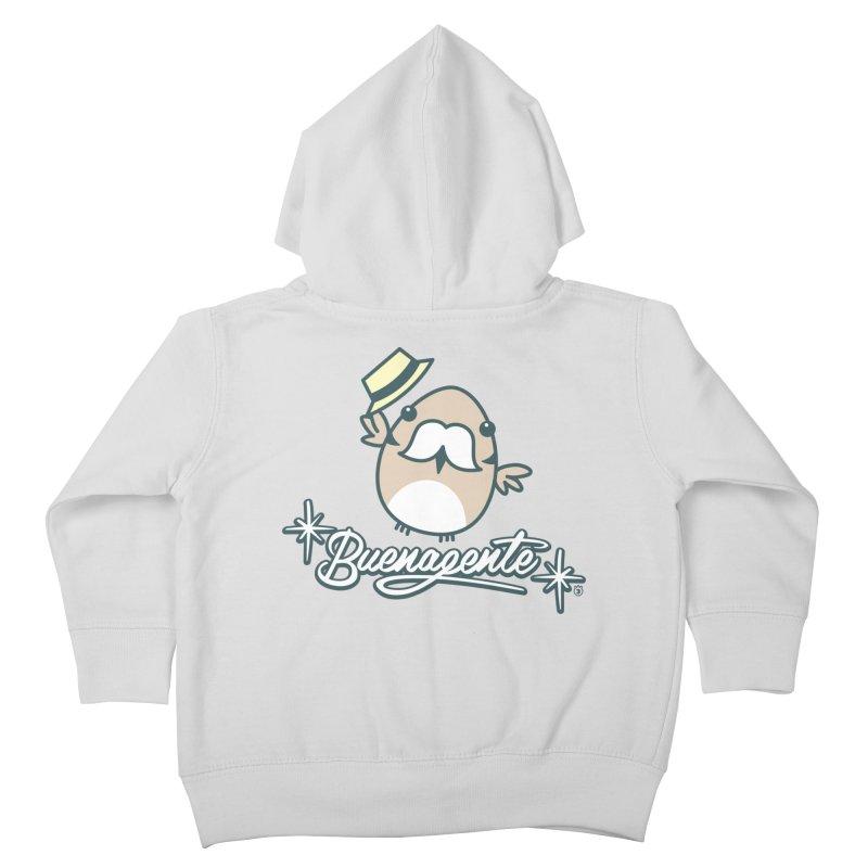 BUENAGENTE Kids Toddler Zip-Up Hoody by Tripleta Gourmet Clothing