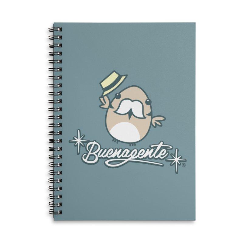 BUENAGENTE Accessories Lined Spiral Notebook by Tripleta Studio Shop