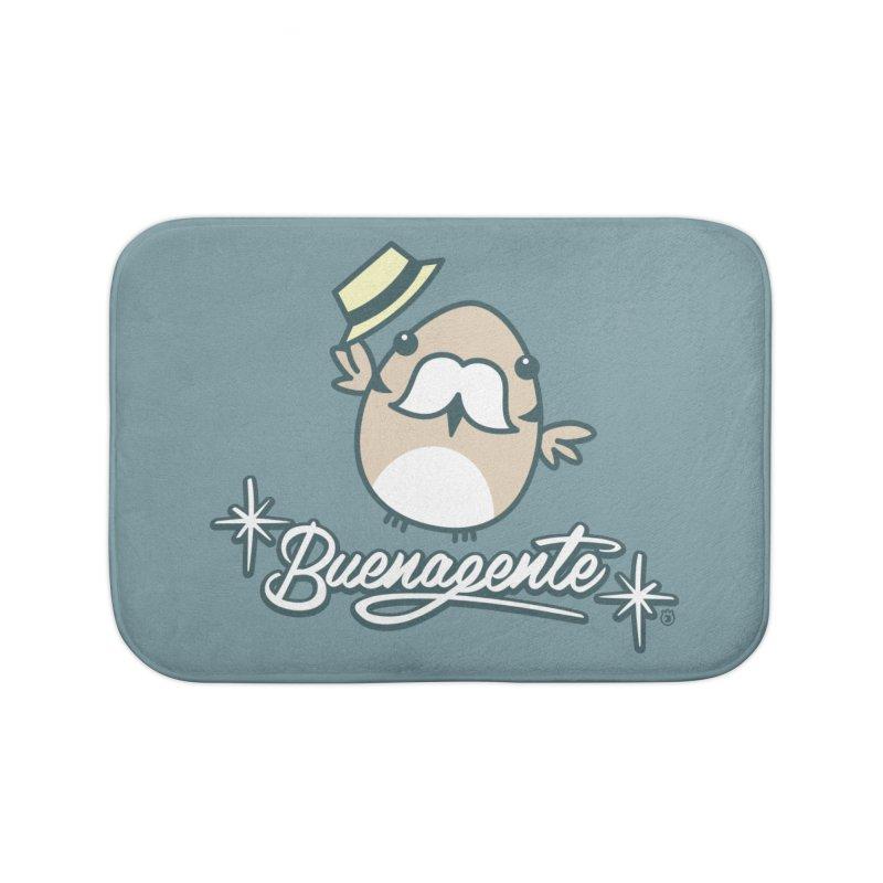 BUENAGENTE Home Bath Mat by Tripleta Gourmet Clothing