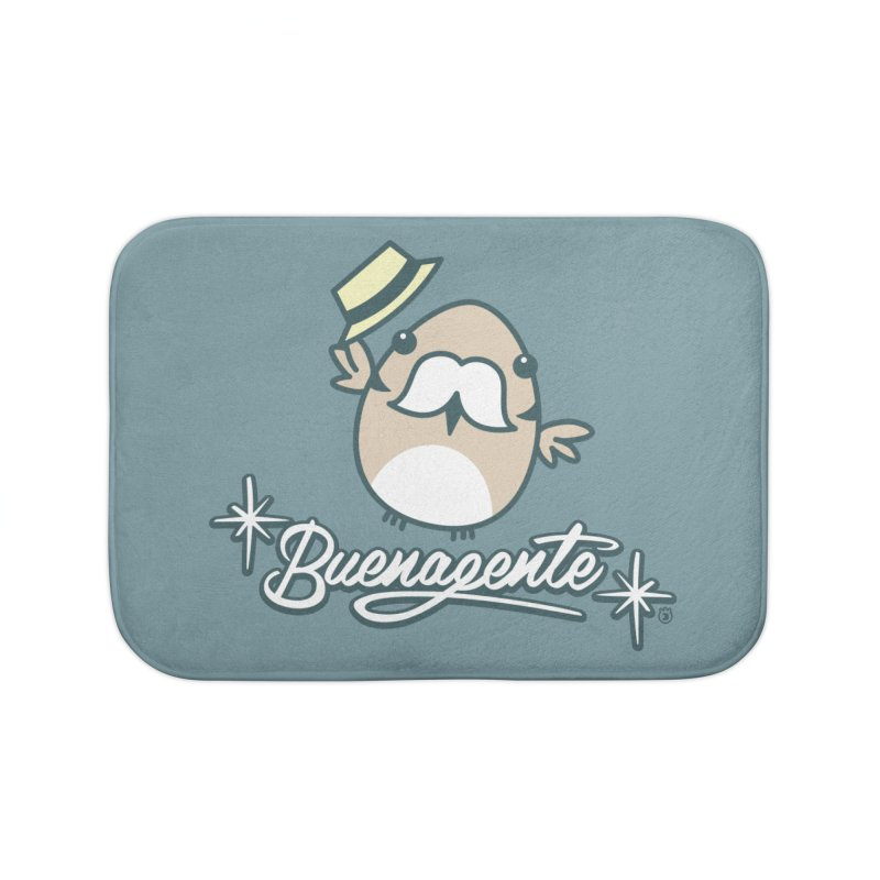 BUENAGENTE Home Bath Mat by Tripleta Gourmet Clothing