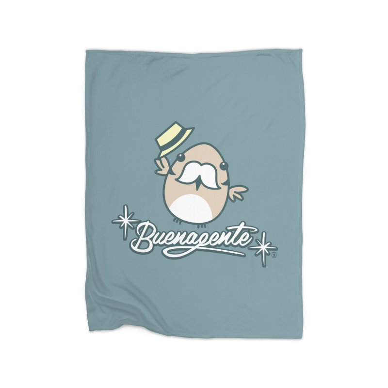 BUENAGENTE Home Fleece Blanket Blanket by Tripleta Studio Shop