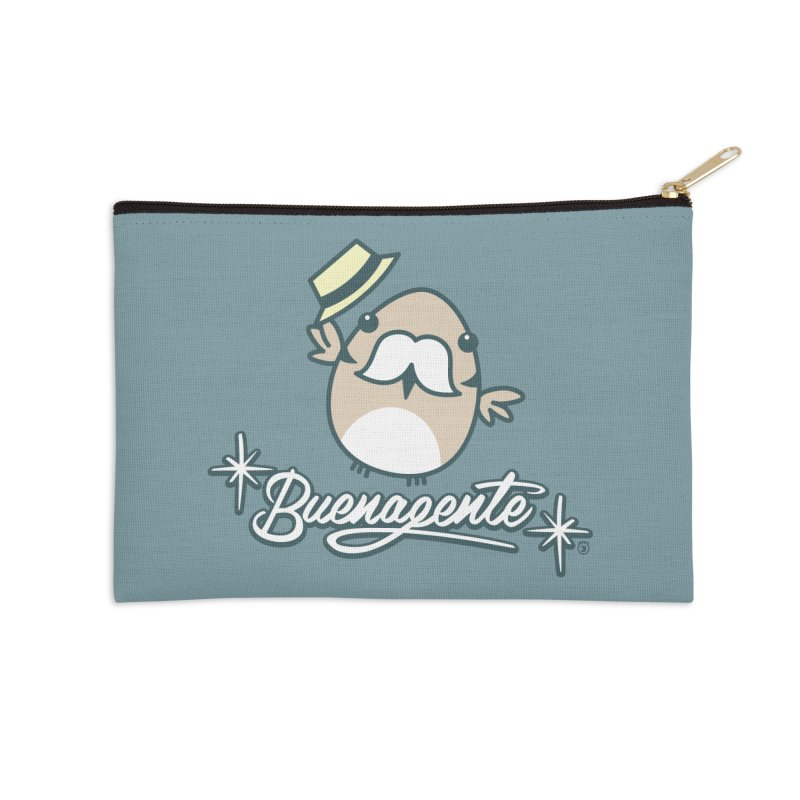 BUENAGENTE Accessories Zip Pouch by Tripleta Studio Shop