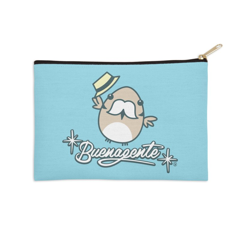 BUENAGENTE Accessories Zip Pouch by Tripleta Studio Shop