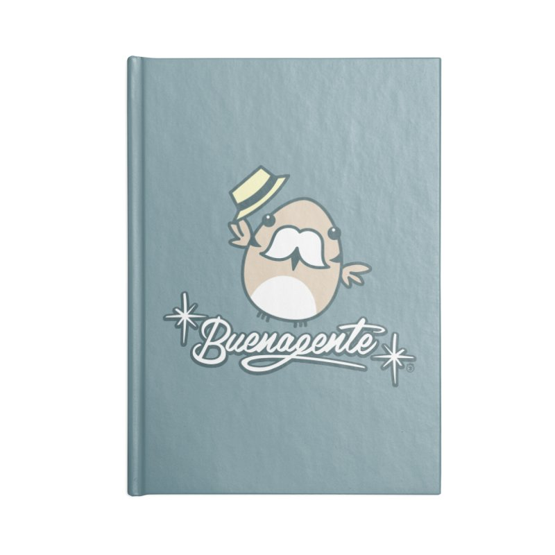 BUENAGENTE Accessories Blank Journal Notebook by Tripleta Studio Shop