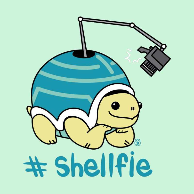 SHELLFIE Kids T-Shirt by Tripleta Studio Shop