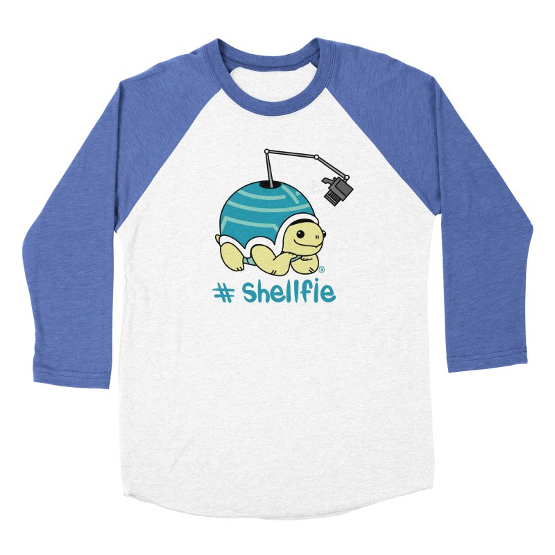 SHELLFIE Women's Baseball Triblend Longsleeve T-Shirt by Tripleta Studio Shop