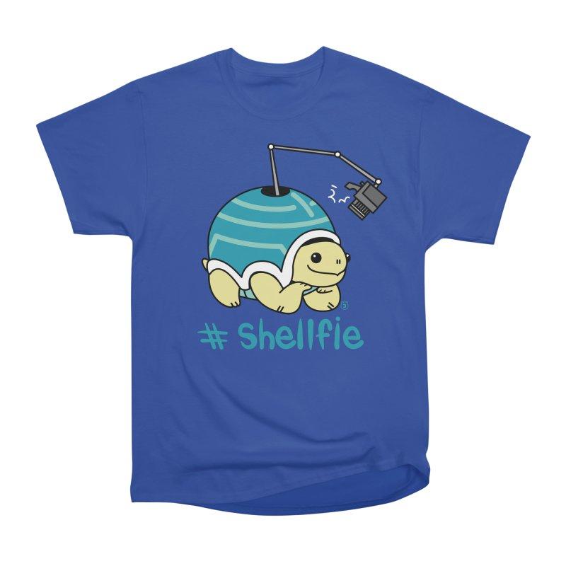 SHELLFIE Women's Heavyweight Unisex T-Shirt by Tripleta Gourmet Clothing