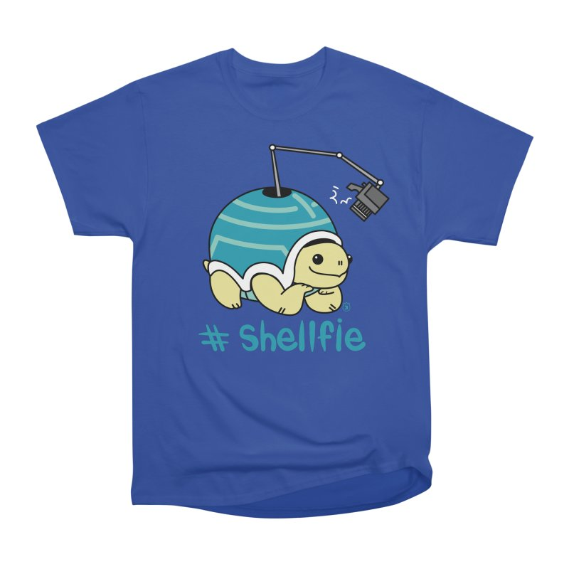 SHELLFIE Men's Heavyweight T-Shirt by Tripleta Studio Shop
