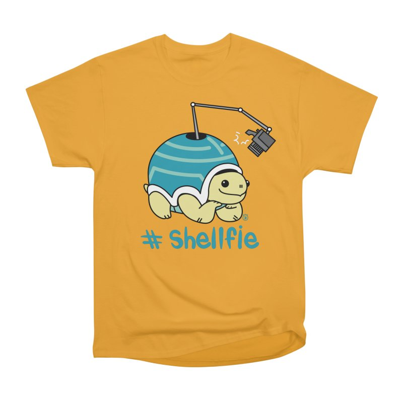 SHELLFIE Men's Heavyweight T-Shirt by Tripleta Gourmet Clothing