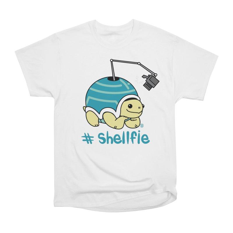 SHELLFIE Women's Heavyweight Unisex T-Shirt by Tripleta Studio Shop