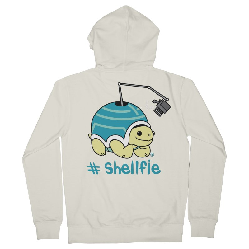 SHELLFIE Women's Zip-Up Hoody by Tripleta Gourmet Clothing