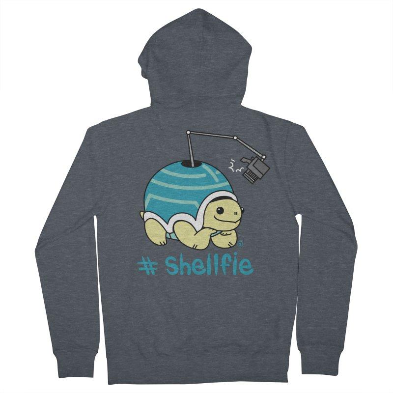 SHELLFIE Men's Zip-Up Hoody by Tripleta Gourmet Clothing
