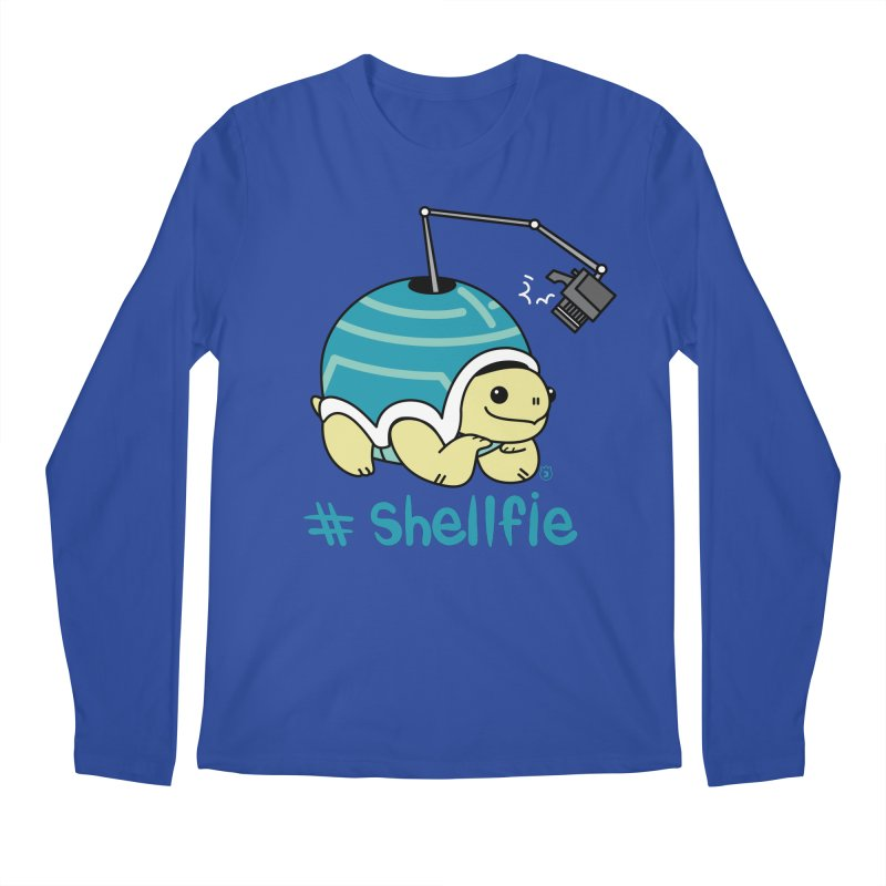 SHELLFIE Men's Regular Longsleeve T-Shirt by Tripleta Gourmet Clothing