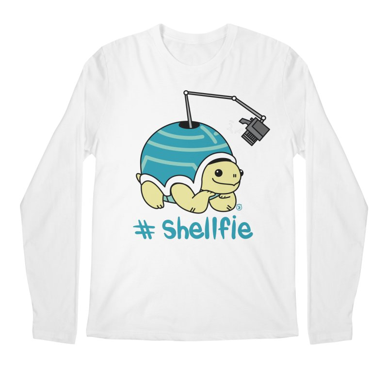 SHELLFIE Men's Regular Longsleeve T-Shirt by Tripleta Studio Shop
