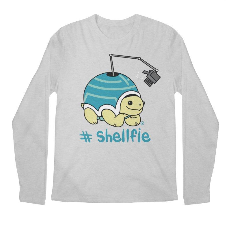 SHELLFIE Men's Regular Longsleeve T-Shirt by Tripleta Studio Shop