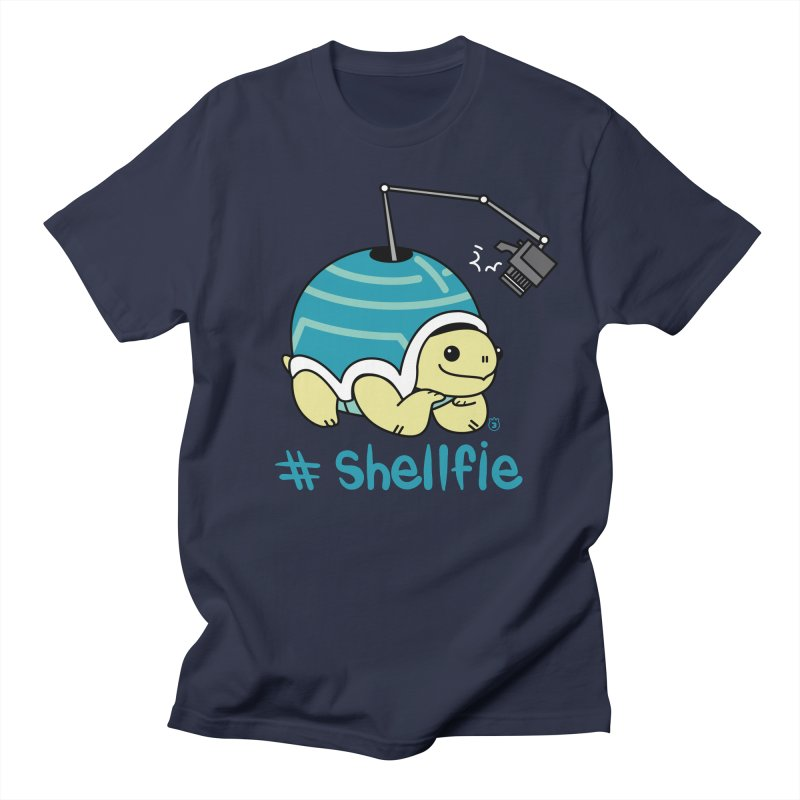 SHELLFIE Women's Regular Unisex T-Shirt by Tripleta Gourmet Clothing