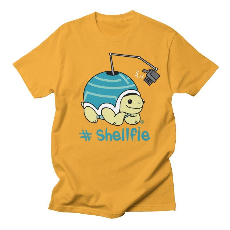 SHELLFIE Men's Regular T-Shirt by Tripleta Gourmet Clothing