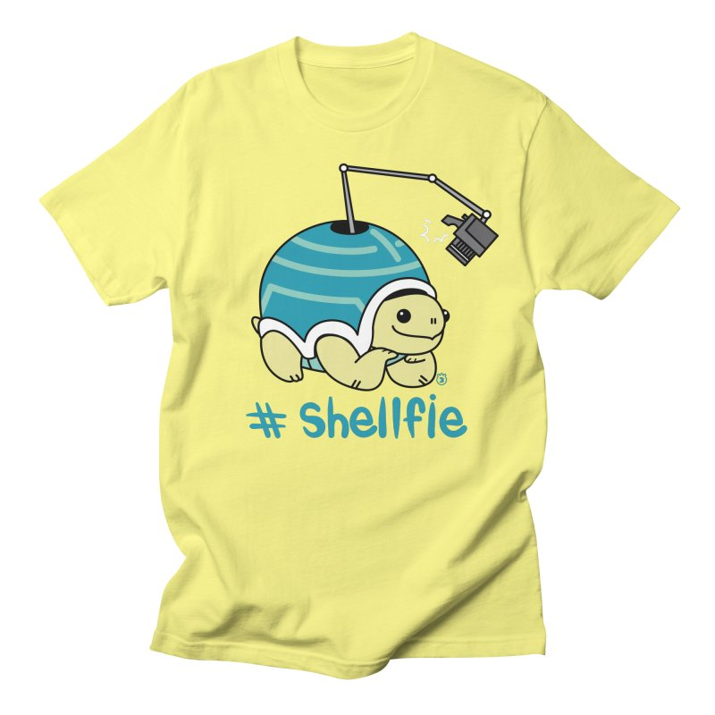 SHELLFIE Men's T-Shirt by Tripleta Gourmet Clothing