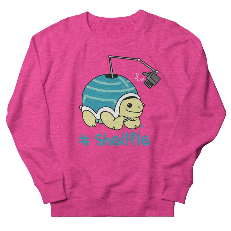 SHELLFIE Women's French Terry Sweatshirt by Tripleta Gourmet Clothing